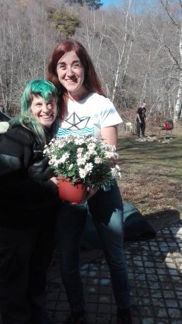 Jardín botánico y amistad